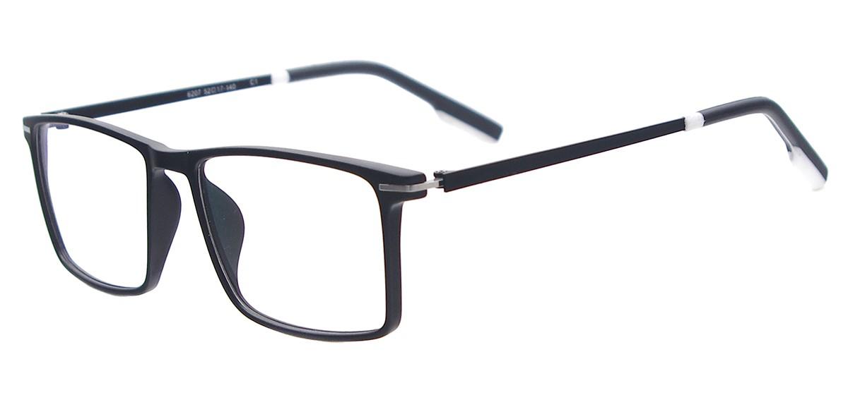f1f42d27f37 TR90 Full Rim Men   Women Rectangle Glasses Frames
